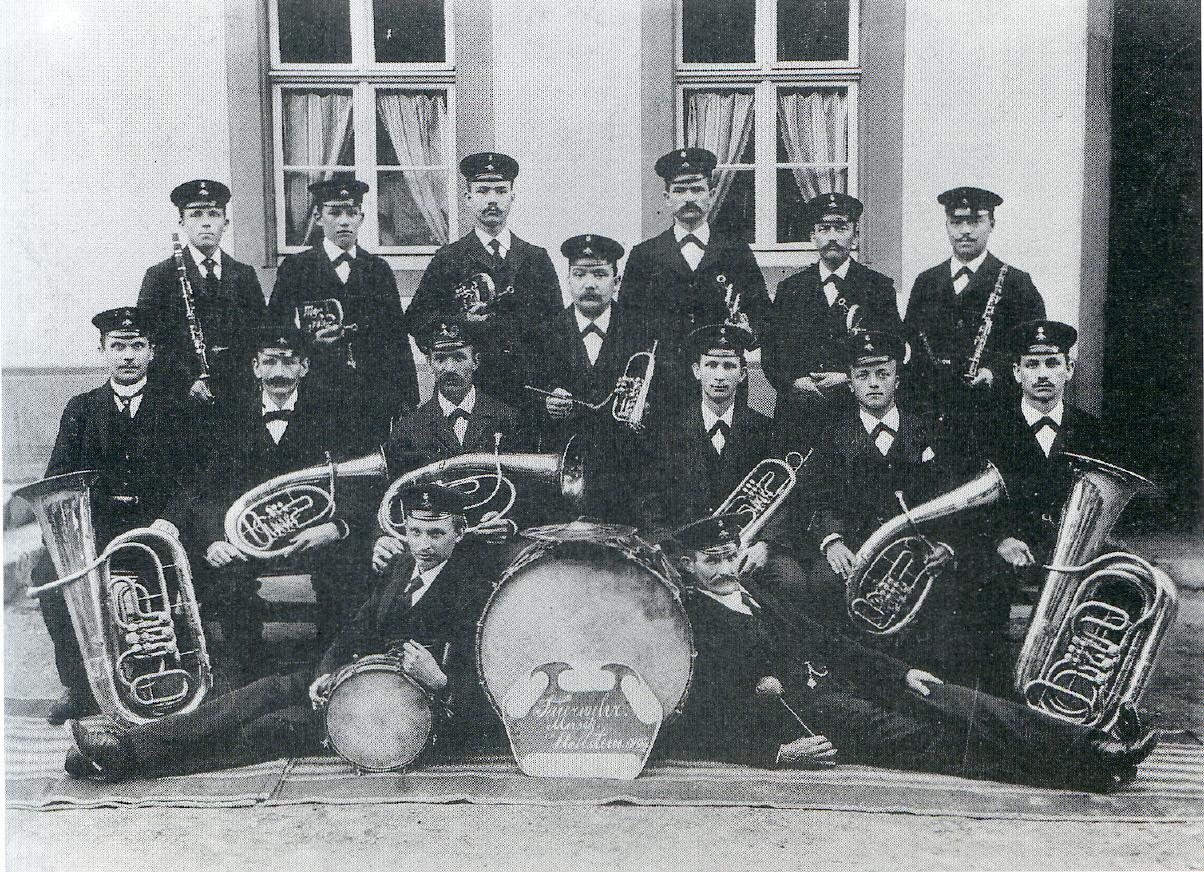 Feuerwehrmusik 1908